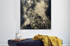 0003 Golden night - Oil Painting by Criss Wolff